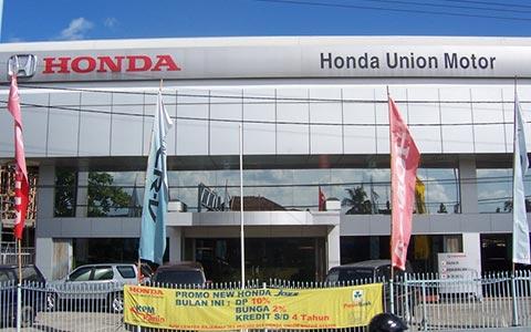 Dealer Mobil Honda Palembang