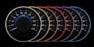cara ubah warna speedometer honda hrv - pilihan warna