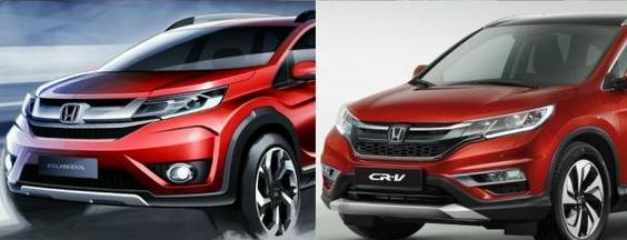 Tampak Depan honda BRV mirip Honda CRV?