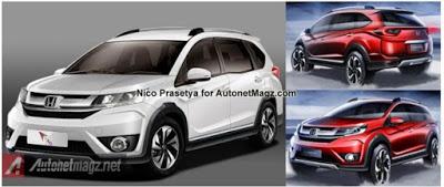 Harga dan Spesifikasi Honda BR-V Palembang