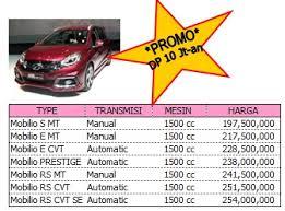 Kredit Murah Honda Mobilio Palembang