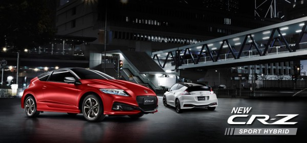 New Honda CR-Z 2016