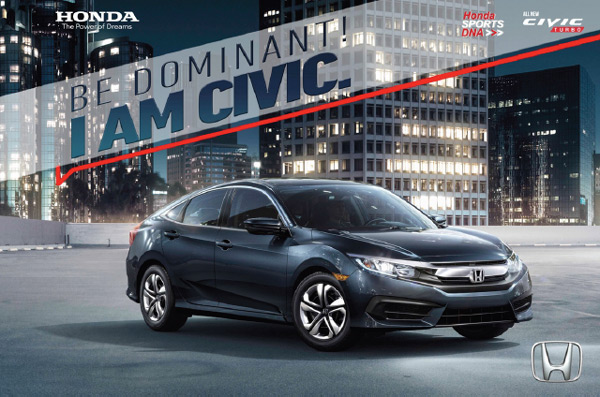 All New Honda Civic TURBO 2016