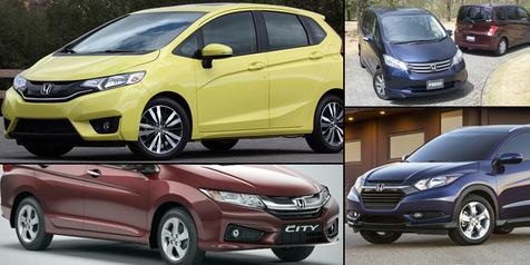 Empat Amunisi Andalan Mobil Honda