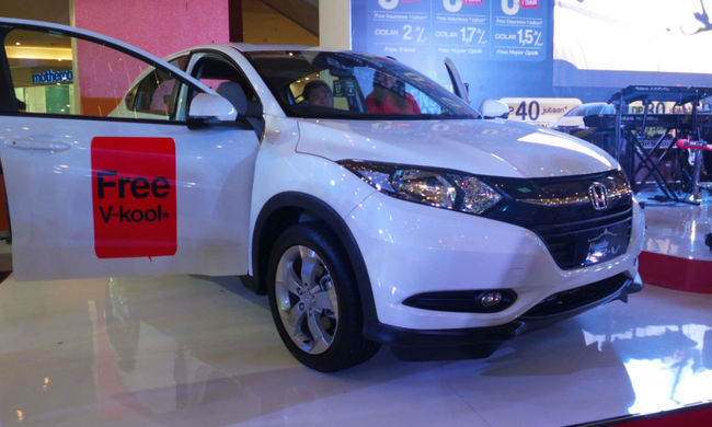 Honda HR-V di Palembang Belum Perlu Program Promo