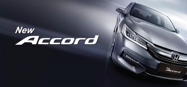 New Honda Accord 2016
